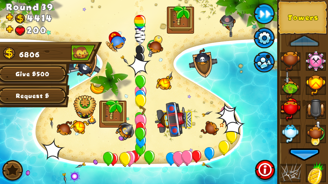 Bloons 174 td 5 adds co op to fan favorite mobile tower defense game