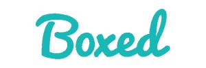 Boxed logo