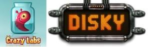 Disky:Crazy Labs logo