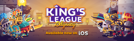 Kings League Odyssey logo