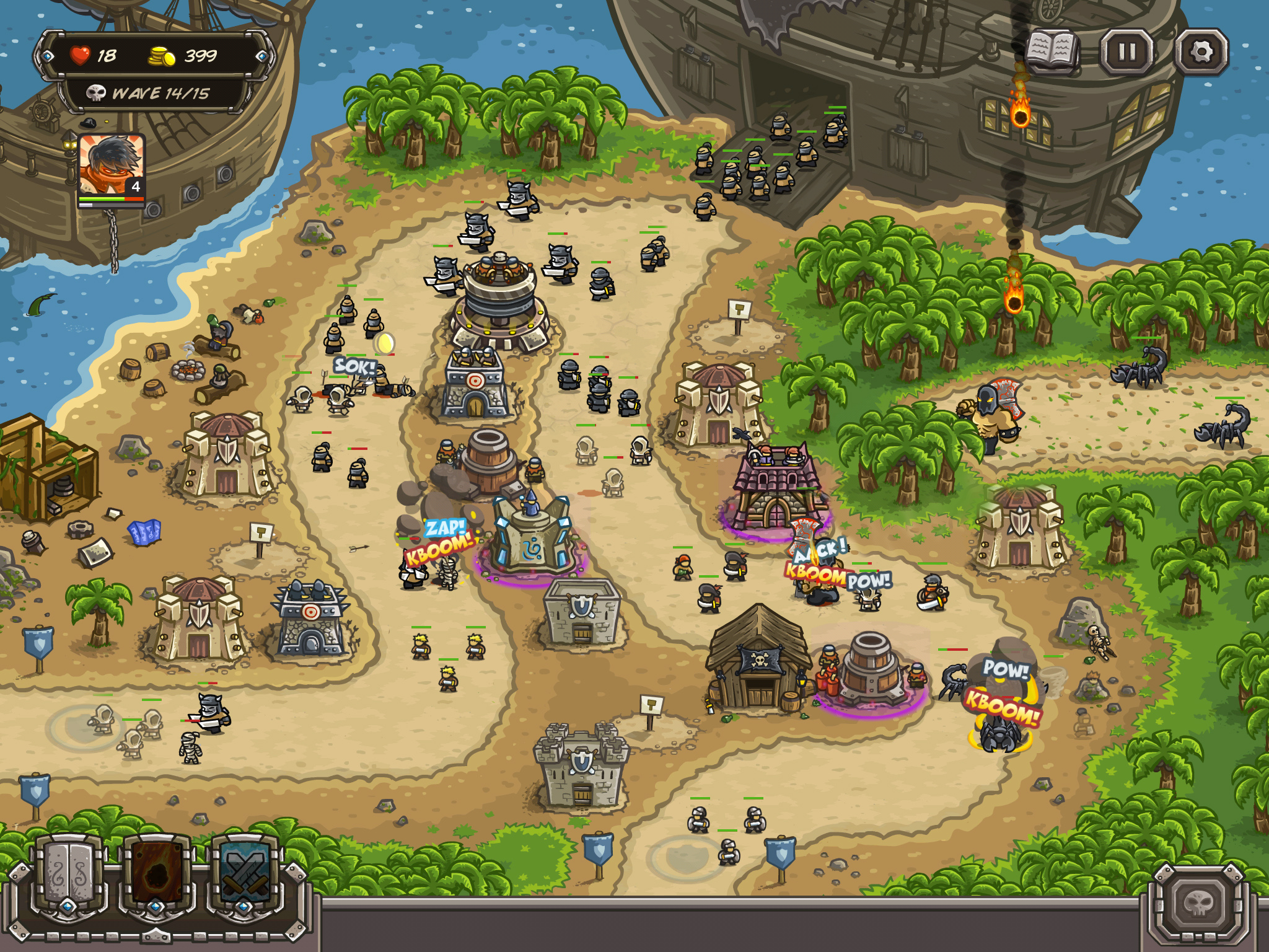 armor games kingdom rush frontiers