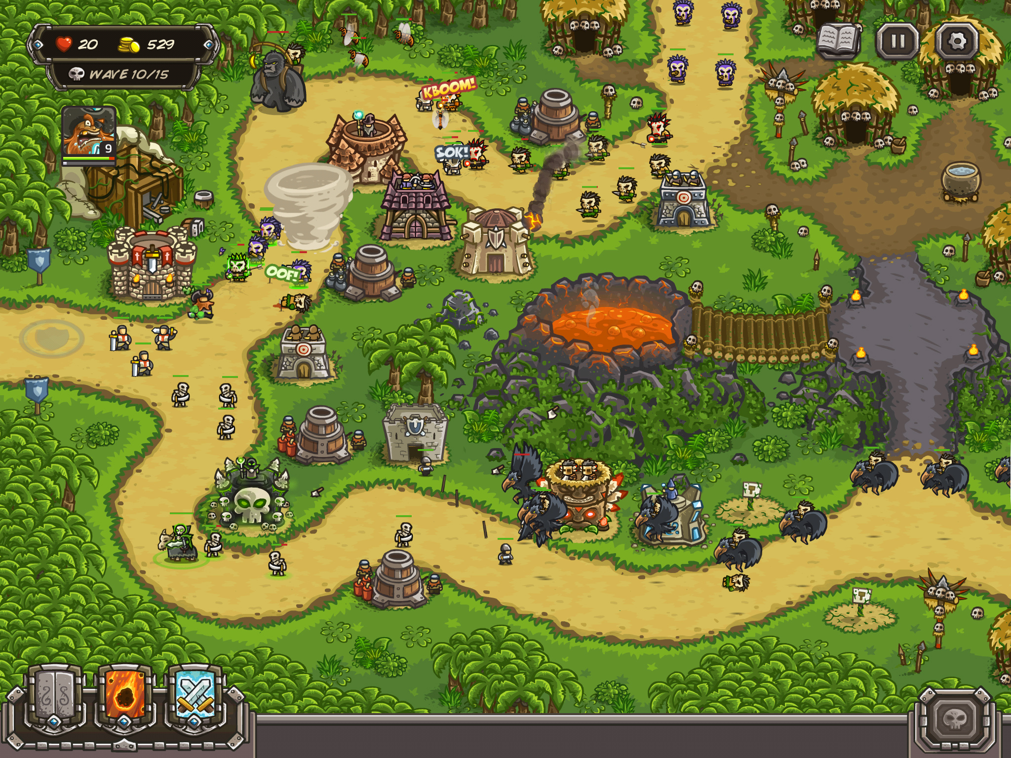 armour games kingdom rush frontiers