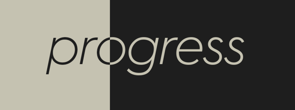 progress header