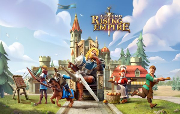 NetEase Games' Legend: Rising Empire Launches on Google Play