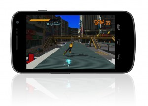Jet Set Radio for Android screenshot