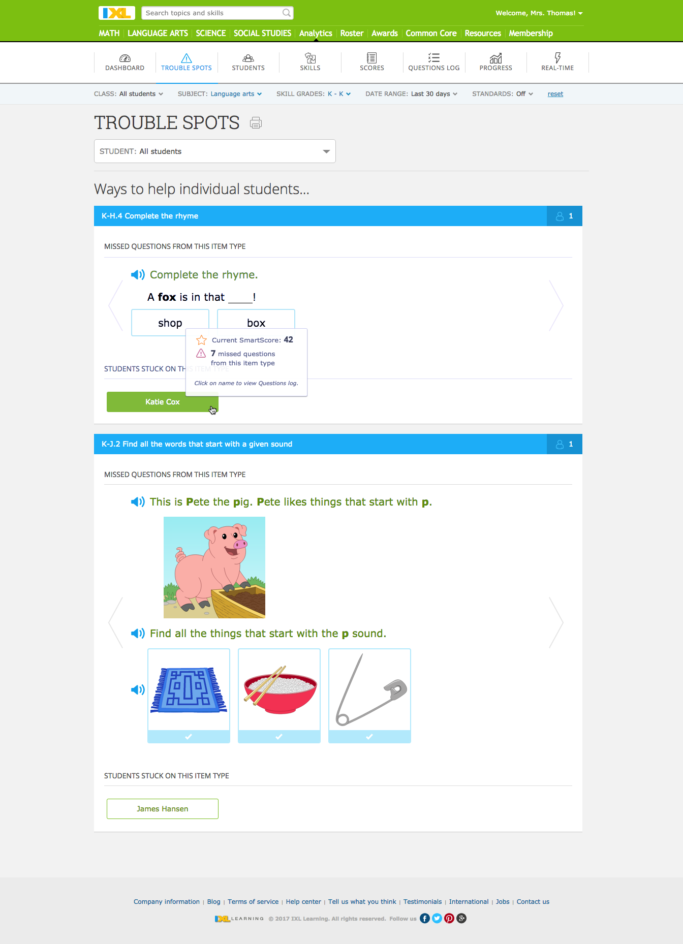 IXL Supports Early Literacy Instruction with New Adaptive Phonics ...