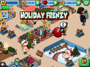 Mall Stars Winter Wonderland screenshot