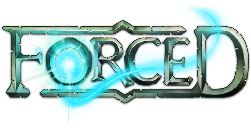 forced logo big