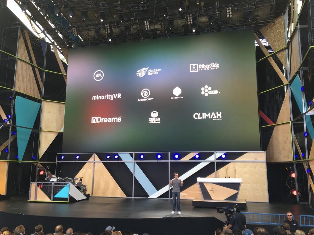 NetEase on stage at Google I/O