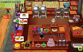 Cooking Dash screenshot: Potsticker