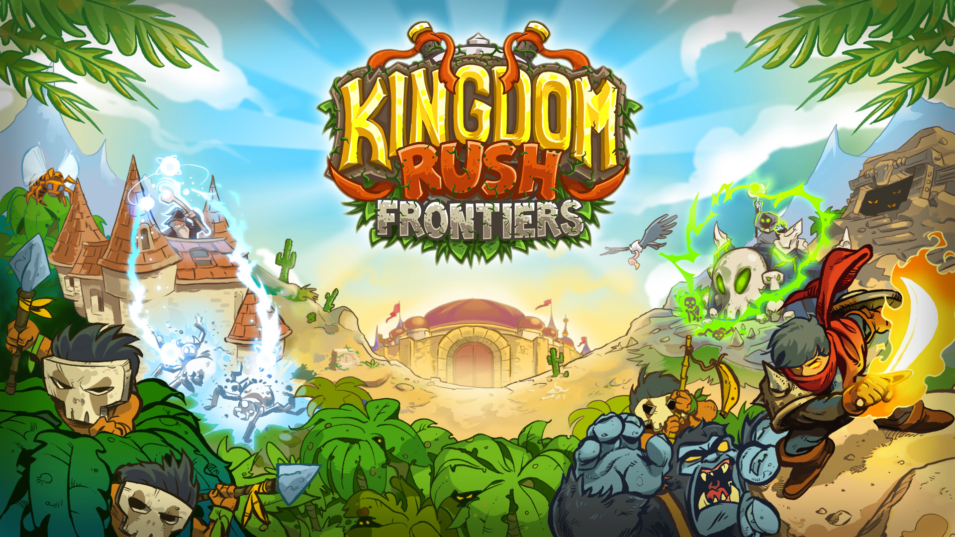 Browser-Based Kingdom Rush: Frontiers Free Today via Armor Games