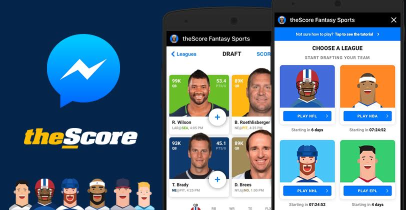 theScore Launches First-Ever Fantasy Sports Game for
